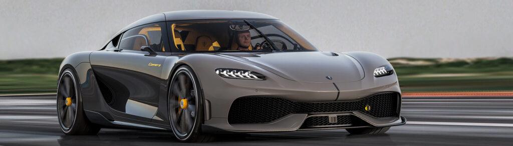 Koenigsegg Gemera Front